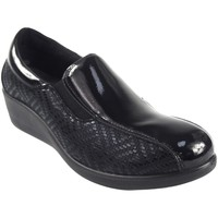Zapatos Mujer Zapatos náuticos Amarpies Zapato señora  18800 ajh negro Negro