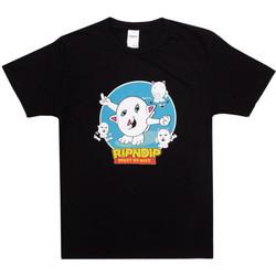 textil Hombre Tops y Camisetas Ripndip Nerm story tee Negro