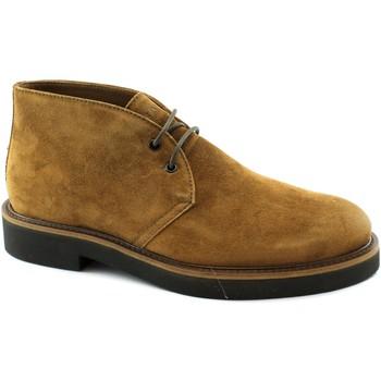Zapatos Hombre Botas de caña baja Frau FRA-I20-74A2-MA Marrone