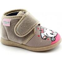 Zapatos Niña Pantuflas para bebé Grunland GRU-I20-PA0623-BE Beige