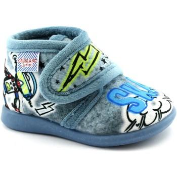 Zapatos Niño Pantuflas para bebé Grunland GRU-I20-PA0628-AV Blu