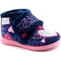 Zapatos Niña Pantuflas para bebé Grunland GRU-I20-PA0635-BL Blu