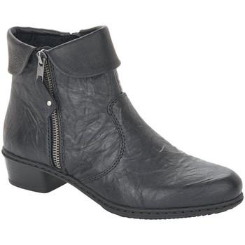 Zapatos Mujer Botines Rieker Fabiola Schwarz Nero Black