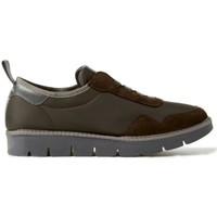 Zapatos Hombre Zapatillas bajas Panchic LISBOA NAYLON MARRON MARRON