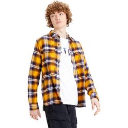 textil Hombre Camisas manga larga Levi's Strauss CAMISA LEVIS JACKSON WORKER Oro