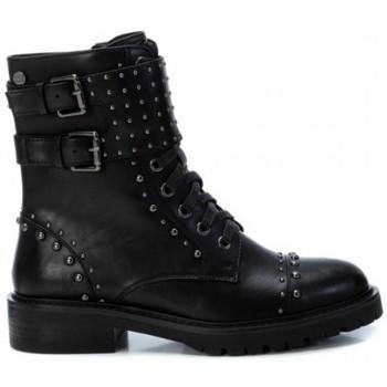 Zapatos Mujer Botines Xti BOTIN CORDON CON ADORNOS METALICOS DE Negro