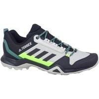 Zapatos Hombre Senderismo adidas Originals Terrex AX3 Hiking Grises, Verde claro, Grafito