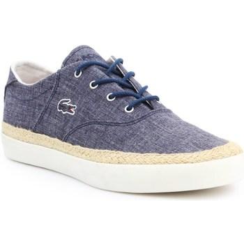 Zapatos Hombre Zapatillas bajas Lacoste Glendon Espa Azul