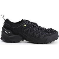 Zapatos Hombre Senderismo Salewa MS Wildfire Edge Gtx Negros
