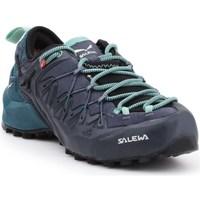 Zapatos Mujer Senderismo Salewa WS Wildfire Edge Gtx Grafito
