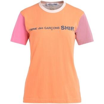 textil Mujer Camisetas manga corta Comme Des Garcons Camiseta multicolores con logotipo Multicolor