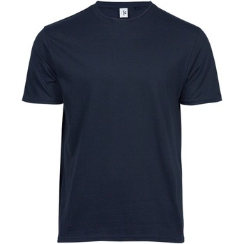 textil Hombre Camisetas manga corta Tee Jays TJ1100 Marino