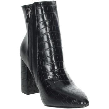 Zapatos Mujer Botas de caña baja Pregunta PFC9144 Negro