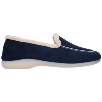 Zapatos Mujer Pantuflas Norteñas 4-320 Mujer Azul marino bleu