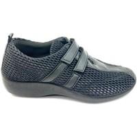 Zapatos Mujer Mocasín Arcopedico L16 LICRA LAYTECH NEGRA NEGRO