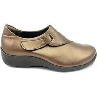 Zapatos Mujer Mocasín Arcopedico TAVIA PIEL BRONCE BRONZE