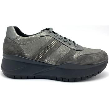 Zapatos Mujer Zapatillas bajas Imac 608450 NUBUCK GRIS GRIS