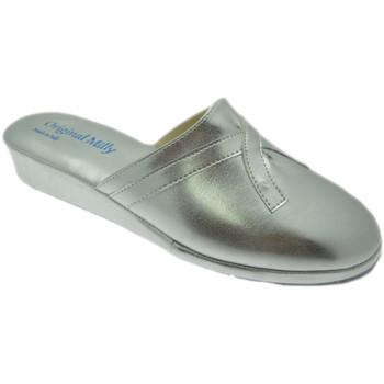 Zapatos Mujer Pantuflas Milly MILLY2200arg grigio