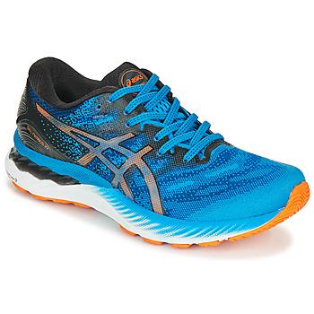 Zapatos Hombre Running / trail Asics NIMBUS 23 Azul / Multicolor