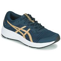 Zapatos Mujer Running / trail Asics PATRIOT 12 Azul / Naranja