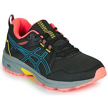 Zapatos Mujer Running / trail Asics VENTURE 8 Negro / Azul