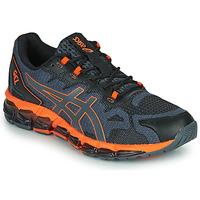 Zapatos Hombre Zapatillas bajas Asics QUANTUM 360 6 Negro / Gris / Naranja