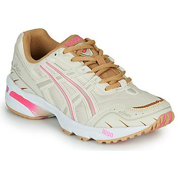 Zapatos Mujer Zapatillas bajas Asics 1090 Blanco / Rosa / Oro