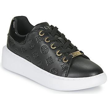 Zapatos Mujer Zapatillas bajas Guess BRADLY Negro