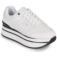 Zapatos Mujer Zapatillas bajas Guess HANSIN Blanco