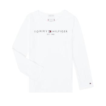 textil Niña Camisetas manga larga Tommy Hilfiger KG0KG05247-YBR-C Blanco
