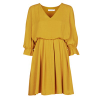 textil Mujer Vestidos cortos Naf Naf  Amarillo