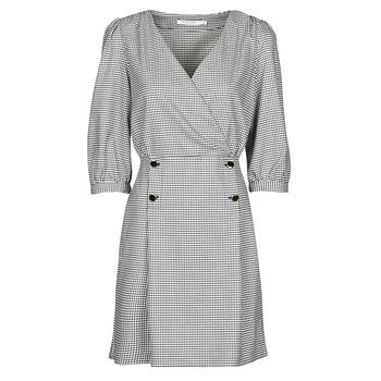 textil Mujer Vestidos cortos Naf Naf  Negro / Blanco