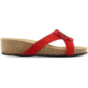 Zapatos Mujer Sandalias Grunland CB0424 Sandals Mujeres Red Red