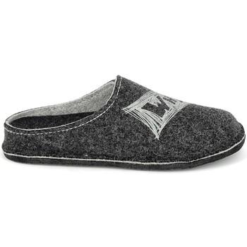 Zapatos Hombre Pantuflas Fargeot Salazar Antracite Gris