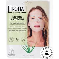 Belleza Cuidados manos & pies Iroha Nature Mascarilla Reconfortante e Hidratante Aloe Vera