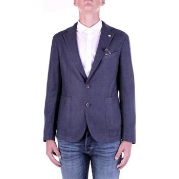 textil Hombre Chaquetas / Americana Manuel Ritz 2932G2728TW-203507 Azul