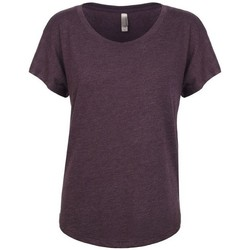 textil Mujer Camisetas manga corta Next Level NX6760 Morado vintage