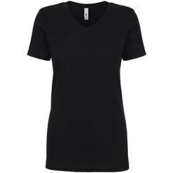 textil Mujer Camisetas manga corta Next Level NX1540 Negro