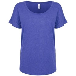 textil Mujer Camisetas manga corta Next Level NX6760 Azul royal vintage