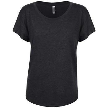 textil Mujer Camisetas manga corta Next Level NX6760 Negro vintage