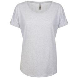 textil Mujer Camisetas manga corta Next Level NX6760 Blanco moteado