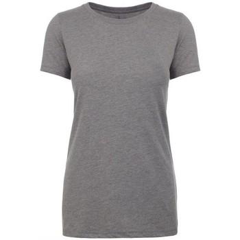 textil Mujer Camisetas manga corta Next Level NX6610 Gris Jaspeado Oscuro