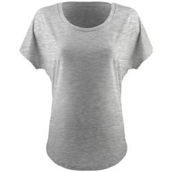 textil Mujer Camisetas manga corta Next Level NX1560 Gris Jaspeado