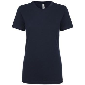 textil Mujer Camisetas manga corta Next Level NX1510 Azul Marino Medianoche