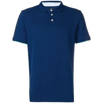 textil Hombre Polos manga corta Hackett  Azul