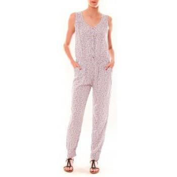 textil Mujer Monos / Petos Dress Code Combinaison Z073  Beige Beige