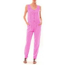 textil Mujer Monos / Petos Dress Code Combinaison Z073  Rose Rosa