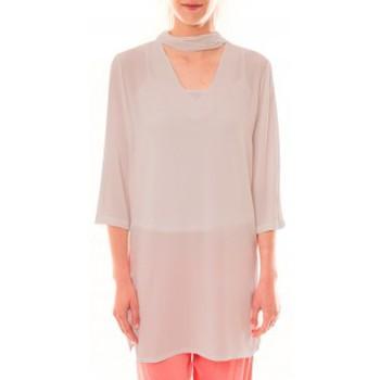 textil Mujer Vestidos cortos La Vitrine De La Mode Robe 156 By La Vitrine Beige Beige