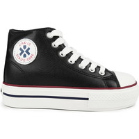 Zapatos Niña Zapatillas altas Chika 10 CITY UP KIDS 04N Negro/Black/Pu
