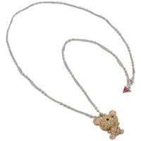 Relojes & Joyas Mujer Collar Guess - ubn811 Gris